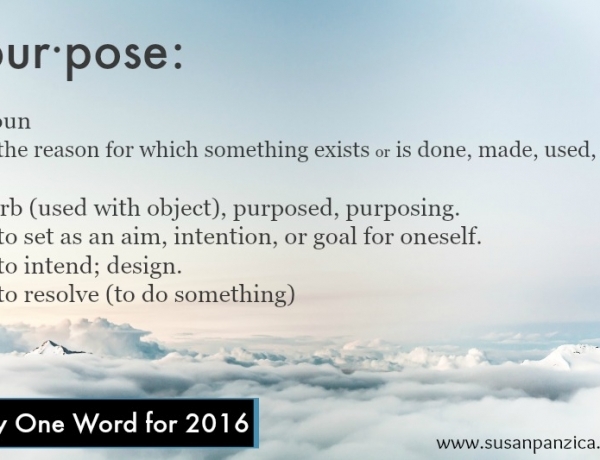 On Purpose for 2016!